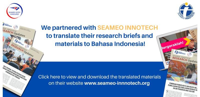 Publikasi Bersama SEAQIL dan SEAMEO INNOTECH