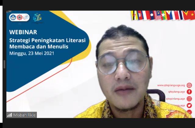 Tingkatkan Literasi, SEAQIL Adakan Webinar Strategi Peningkatan Literasi Membaca dan Menulis