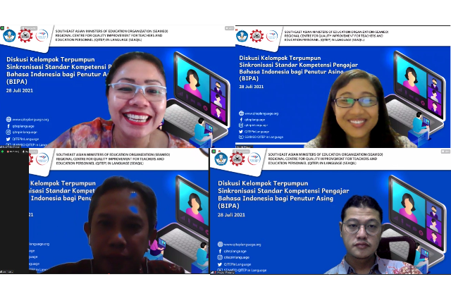 SEAQIL Siapkan Standar Kompetensi Pengajar BIPA yang Aplikatif dan Dinamis
