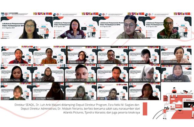 SEAQIL garap naskah video pembelajaran BIPA