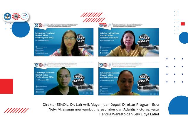 SEAQIL finalisasi naskah video pembelajaran BIPA
